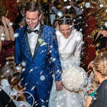 Αναστασία Καίσαρη – Thomas Persy: Υπέρλαμπρος γάμος και φαντασμαγορική δεξίωση