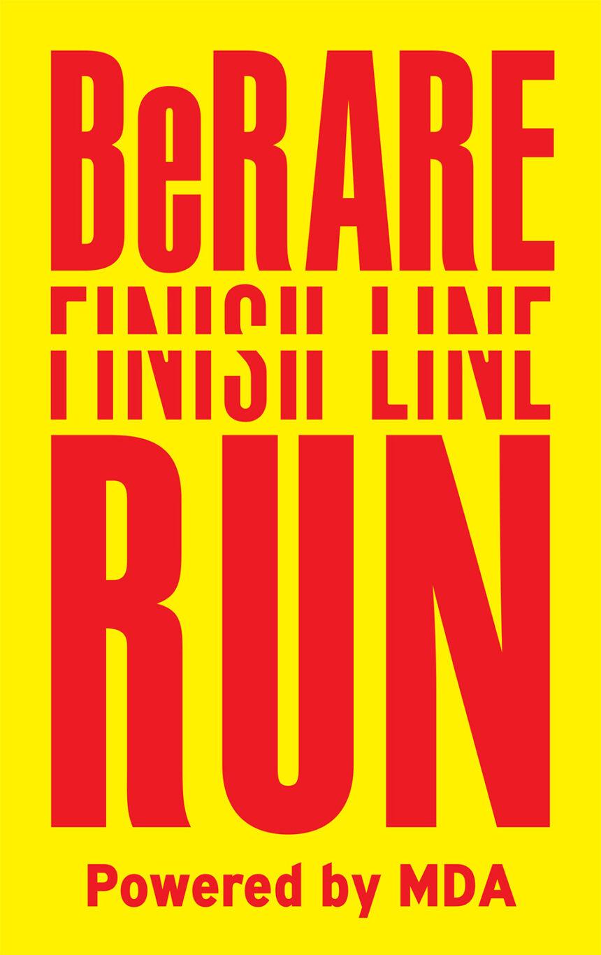 Be Rare Finish Line Virtual Run για καλό σκοπό!