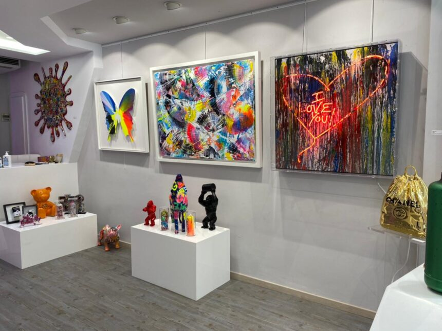 """Το «The Art Dose» υποδέχεται την Άνοιξη του 2021 με την Ομαδική Έκθεση """"Splash of Color"""""""