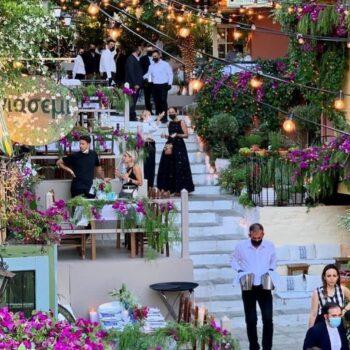 Dior: Δείπνο αλά ελληνικά στην Πλάκα